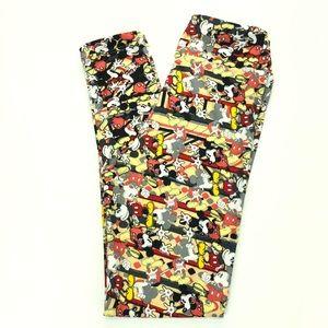 LuLaRoe Disney Tween Mickey Mouse Leggings NWOT